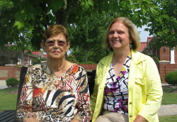 Betty and Lindy have made a generous gift in their wills to create scholarships for students in financial need.